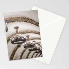 Kyiv subway Stationery Cards
