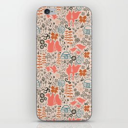 Mongolian Expanse Pattern iPhone Skin