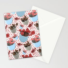 Beautiful Succulent Pattern Stationery Cards