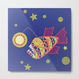 Anglerfish Metal Print