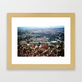 Overlooking Germany Framed Art Print