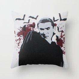 Drac  Throw Pillow