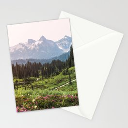 Mountain Wildflower Hiking Highs - 74/365 Stationery Cards