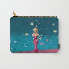 Barbie on pink carpet Carry-All Pouch