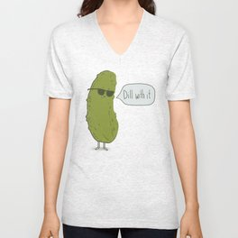 Dill with it Unisex V-Neck
