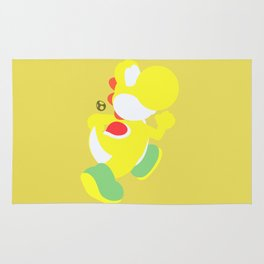 Yoshi(Smash)Yellow Rug