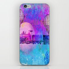 Train in the space iPhone & iPod Skin