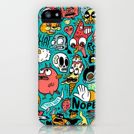 2019 New Year Pattern iPhone Case