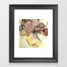 Kisses from the Sun Framed Art Print