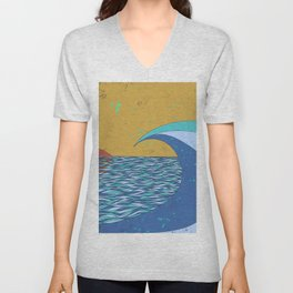 Sunset VIII Unisex V-Neck