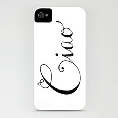 Ciao iPhone (4, 4s) Slim Case