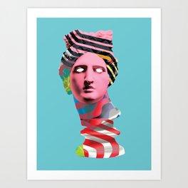 SHE (Collage) Art Print