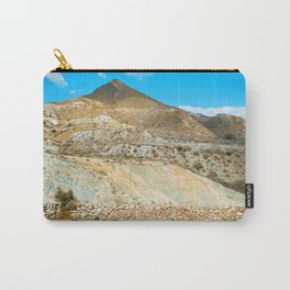 Landscape desert in Almeria, Andalusia, Spain Carry-All Pouch
