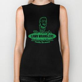 Mr Henry's Lawn Wranglers (Bottle Rocket) Biker Tank