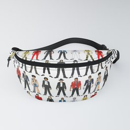 Outfits of King MJ Pop Music Fanny Pack