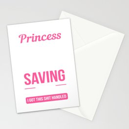 Not A Princess Police Officer Gift Stationery Cards