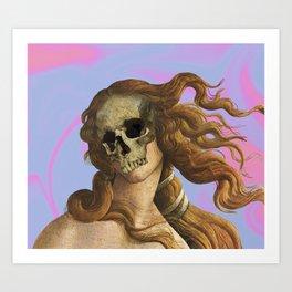 Death of Venus Art Print