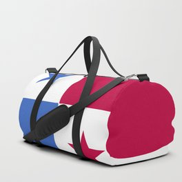 Panama flag emblem Duffle Bag