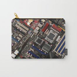 Computer motherboard Carry-All Pouch