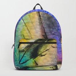 Illuminated Structure: Solo Rainbow Labradorite Backpack