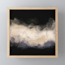 Stormy Skies Framed Mini Art Print