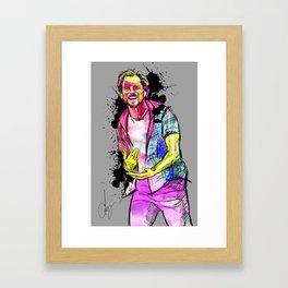 Don't it make you smile Framed Art Print