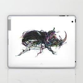 Beetle 1. Color & Black on white background Laptop & iPad Skin