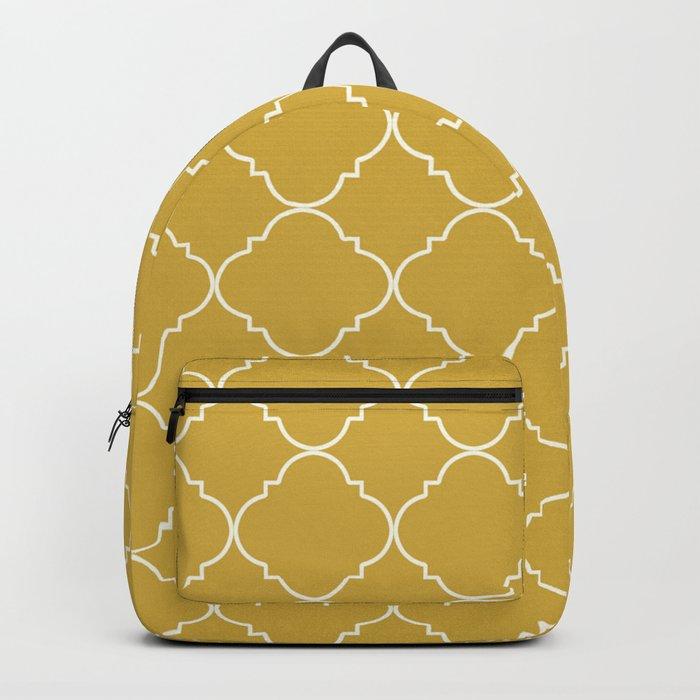 Yellow Moroccan Backpack