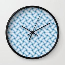 Geometric Celtic Knot Pattern Wall Clock