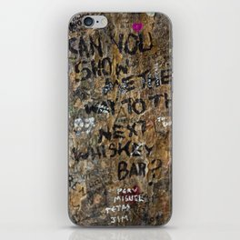 Show me the way iPhone Skin