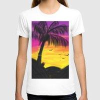 palm T-shirts featuring palm by Mel E Hyman