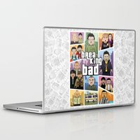 gta Laptop & iPad Skins featuring Lego Gta Mashup Breaking Bad by Akyanyme