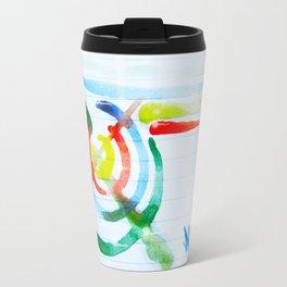 waterpaint#noir 017 Travel Mug