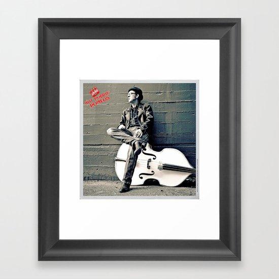Rockin' Billy Burns Framed Art Print