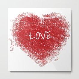 mio cuore Metal Print