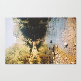 A rock's throw. Canvas Print