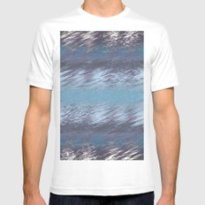 Blurred Vision Mens Fitted Tee White SMALL