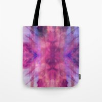 trippy Tote Bags featuring TRIPPY by Joelle Poulos