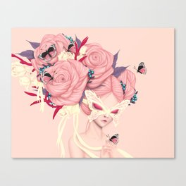 fairy rose Canvas Print