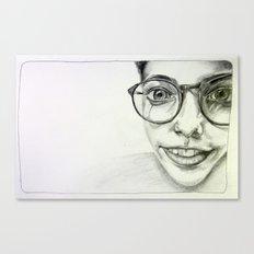 JAZMIN. Canvas Print