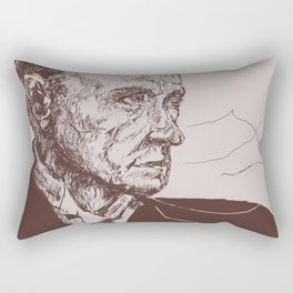 Fred Astaire in Moon Luminance Rectangular Pillow