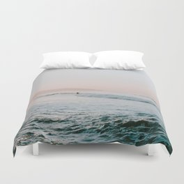 summer waves Duvet Cover