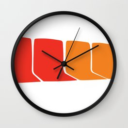 4 Seats on the 1 Wall Clock