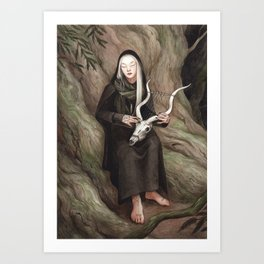 Cahya - A Compendium of Witches Art Print
