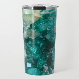 Teal Rock Candy Quartz Travel Mug