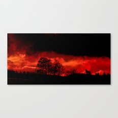 Cry wolf Canvas Print