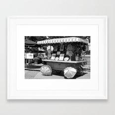 Artist Wagon Framed Art Print