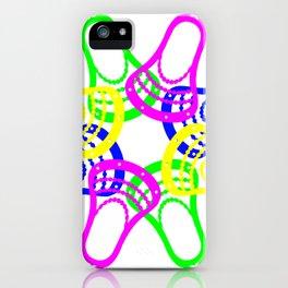 Lacrosse Neon Heads iPhone Case