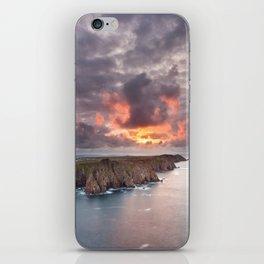 Tory Island sunset | Ireland iPhone Skin