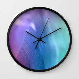 Silky Moments Wall Clock